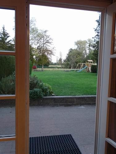 La Forge Neuve Uitzicht op tuin