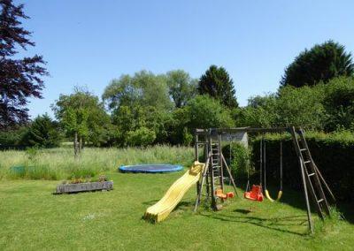 Tuin gezamenlijk speeltoetsellen